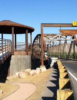 Gillespie Dam Bridge Clearance Bar