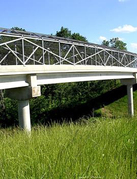 BNSF (Louden) Trail Bridge, Fairfield Loop Trail