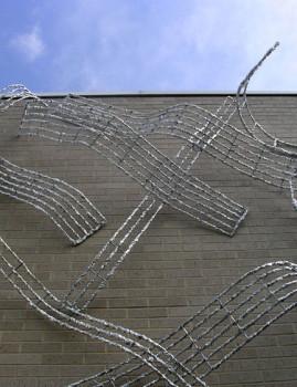 Weave-Through: Public Art Sculptural Installation