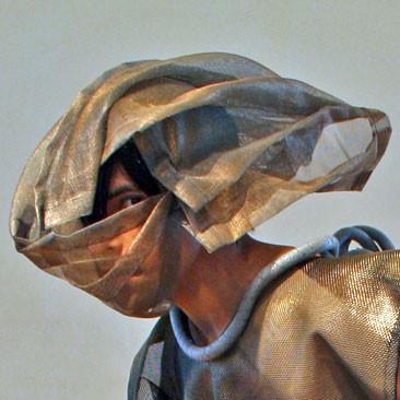 Mesh Headscarf