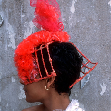 Scarlet Mesh Hat