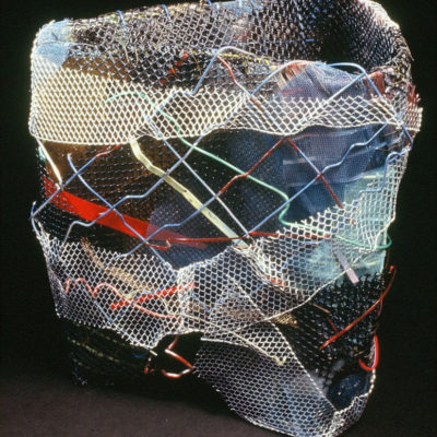 "Cross Currents: Dimensions: 18"" x 15"" x 12"" 1992"