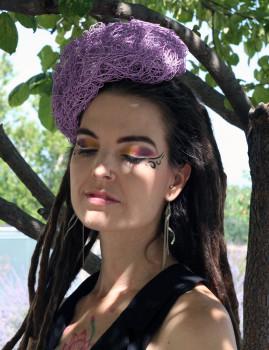 Lilac Cloche
