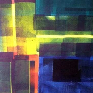 Stuart McCall Libby monoprints