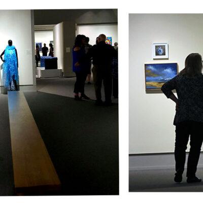Opening night, Cedar Rapids Museum of Art, Iowa