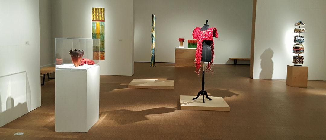 Fiberart exhibition, Grinnell College Museum of Art