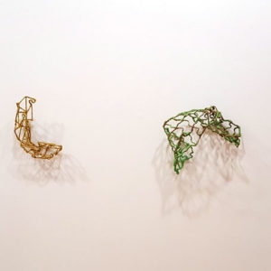 Wall sculptures by Judy Bales