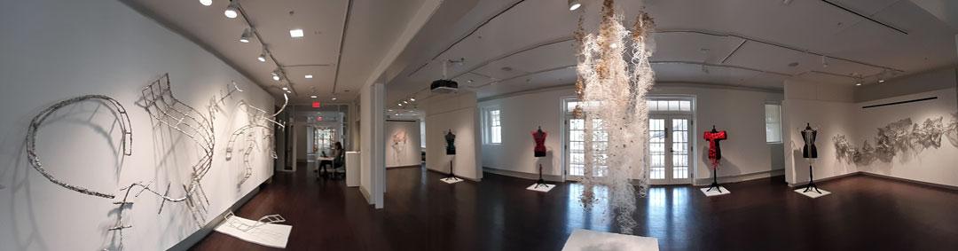 Solo exhibition, Leland Gallery, Georgia College, Milledgeville, Georgia